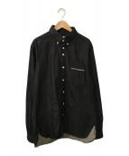 ()の古着「デニムBDシャツ」|インディゴ