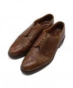 Lloyd footwear(ロイドフットウェア)の古着「ストレートチップシューズ」|ブラウン