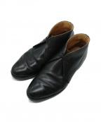 Lloyd footwear(ロイドフットウェア)の古着「チャッカーブーツ」|ブラック
