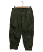THE NORTH FACE(ザ ノース フェイス)の古着「Stretch Twill Wide Tapered Pan」|カーキ