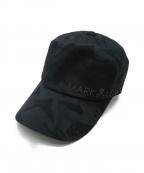 MARK&LONA(マークアンドロナ)の古着「キャップ」|ブラック