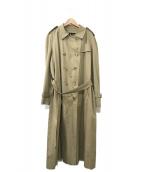 Burberrys(バーバリーズ)の古着「ビッグシルエットトレンチコート」|ベージュ