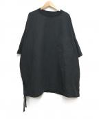 MARKA(マーカ)の古着「WIDE CREW NECK TEE」|ブラック