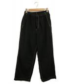 ()の古着「Denim Baggy Pants」|ブラック