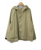 ()の古着「Comfort Trek Rain Jacket」 ベージュ