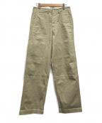 US NAVY(ユーエスネイビー)の古着「ワークパンツ」|ベージュ