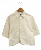 ()の古着「ショートシャツ」|ホワイト