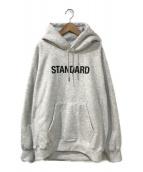 ()の古着「STANDARD HOODIE」 ホワイト