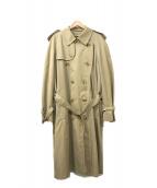 ()の古着「英国製ライナー付トレンチコート」 ベージュ