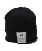 Y-3(ワイスリー)の古着「ニット帽」|ブラック