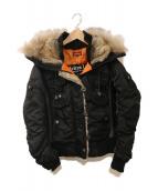 AVIREX(アヴィレックス)の古着「N-2Bジャケット」|ブラック