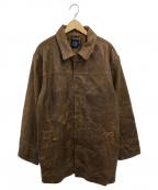 OLD GAP(オールドギャップ)の古着「レザージャケット」|ブラウン