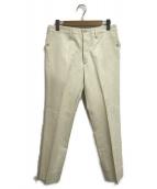 GUCCI(グッチ)の古着「スラックスパンツ」|ホワイト