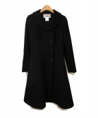 Rene(ルネ)の古着「ウールコート」|ブラック
