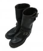 WESCO(ウェスコ)の古着「モーターサイクルレザーブーツ」|ブラック