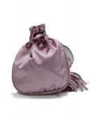 BOTTEGA VENETA(ボッテガベネタ)の古着「巾着バッグ」|ピンク
