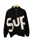 SUPREME(シュプリーム)の古着「Half Zip Pullover」|ホワイト×ブラック