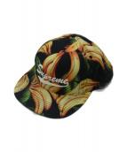 SUPREME(シュプリーム)の古着「Banana Cap」 イエロー×グリーン