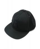 SUPREME(シュプリーム)の古着「キャップ」|ブラック