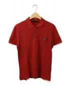 GUCCI(グッチ)の古着「ポロシャツ」 レッド