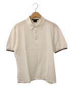 ()の古着「シェリーラインポロシャツ」|ホワイト