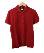 GUCCI(グッチ)の古着「ポロシャツ」|レッド