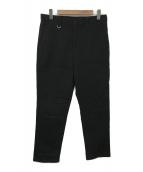 SOPH.(ソフ)の古着「HIGH RISE CROPPED SLACKS」|ブラック