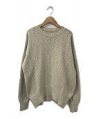 LAppartement(アパルトモン)の古着「Volume Sleeve Knit」|ベージュ
