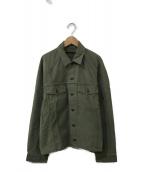 AP STUDIO(エーピーストゥディオ)の古着「Oversized Militaly ジャケット」|オリーブ