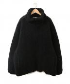 BOWWOW(バウワウ)の古着「【別注】ROYAL FLASHボアジャケット」 ブラック