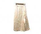 JIL SANDER()の古着「中綿デザインスカート」|ピンク