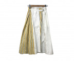 JIL SANDER NAVY(ジルサンダー ネイビー)の古着「スカート」 ホワイト