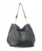 kawa-kawa(カワカワ)の古着「レザーワンショルダーバッグ」|ブラック