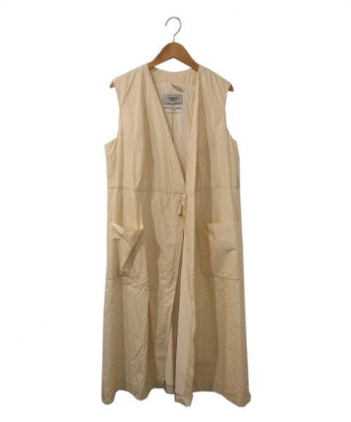 YAECA(ヤエカ)YAECA (ヤエカ) WRAP COAT ホワイト サイズ:Mの古着・服飾アイテム