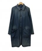 BRU NA BOINNE(ブルーナボイン)の古着「アルチザンコート」|インディゴ