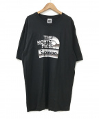 SUPREME×THE NORTH FACE()の古着「Metallic Logo T-shirt」|ブラック