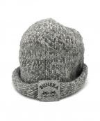 SUNSEA(サンシー)の古着「ニット帽」 グレー