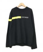 OPENING CEREMONY(オープニングセレモニー)の古着「スウェット」|ブラック