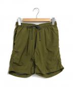 MountainEquipment(マウンテンイクイップメント)の古着「Puckering Water Shorts」|カーキ