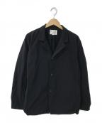 STILL BY HAND(スティルバイハンド)の古着「コットンライクワークジャケット」 ネイビー