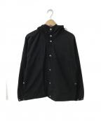YAECA()の古着「60/40 Cloth Hood Shirt」 ネイビー