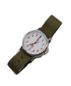 TIMEX(タイメックス)の古着「腕時計」|ホワイト