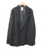 MANDO(マンドー)の古着「ダブルテーラードジャケット」|ブラック