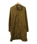 COOTIE(クーティー)の古着「N/C Bal Collar Coat」|カーキ