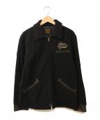 COOTIE(クーティー)の古着「Wool Field Sports Jacket」|ブラック