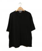 COOTIE(クーティー)の古着「ショートVネックビッグTシャツ」|ブラック