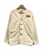 UNIVERSAL OVERALL(ユニバーサルオーバーオール)の古着「ジャケット」 ホワイト