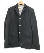 MONCLER GAMME BLEU(モンクレール ガム ブルー)の古着「コットンテーラードジャケット」|ネイビー