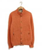 BRUNELLO CUCINELLI(ブルネロクチネリ)の古着「カシミヤニットジャケット」 オレンジ
