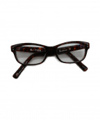 金子眼鏡(カネコメガネ)の古着「伊達眼鏡」|ブラウン